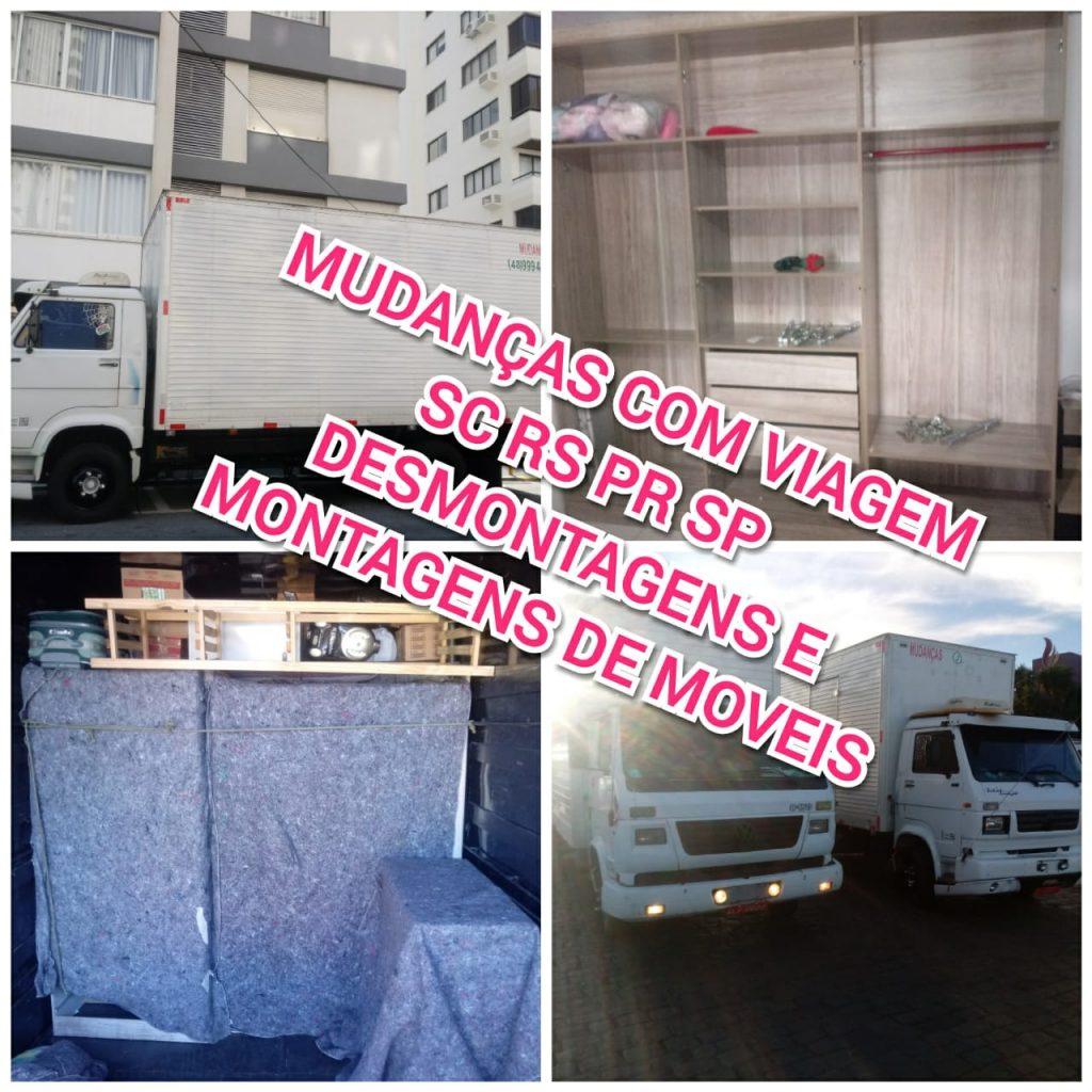 Empresa de mudanças em Florianópolis